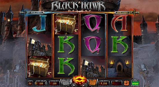 Black Hawk Deluxe slot van Wazdan.