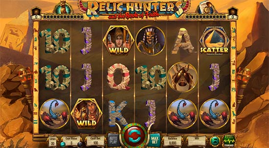 Relic Hunters and the Book of Faith Wazdan slot