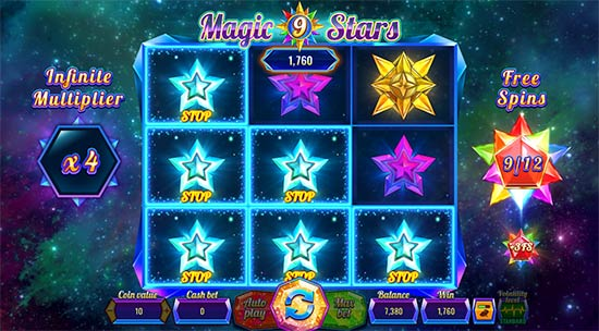 Magic Stars 9 bonusspel