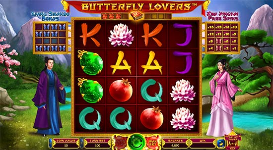 Butterfly Lovers slot van Wazdan